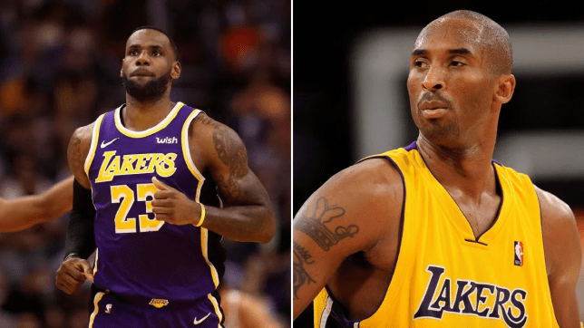 LeBron James mourns death of Kobe Bryant
