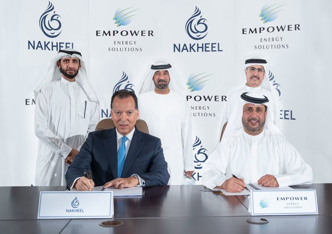 Empower and Nakheel sign agreement